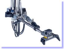 Přesné a rychlé hydraulické rameno